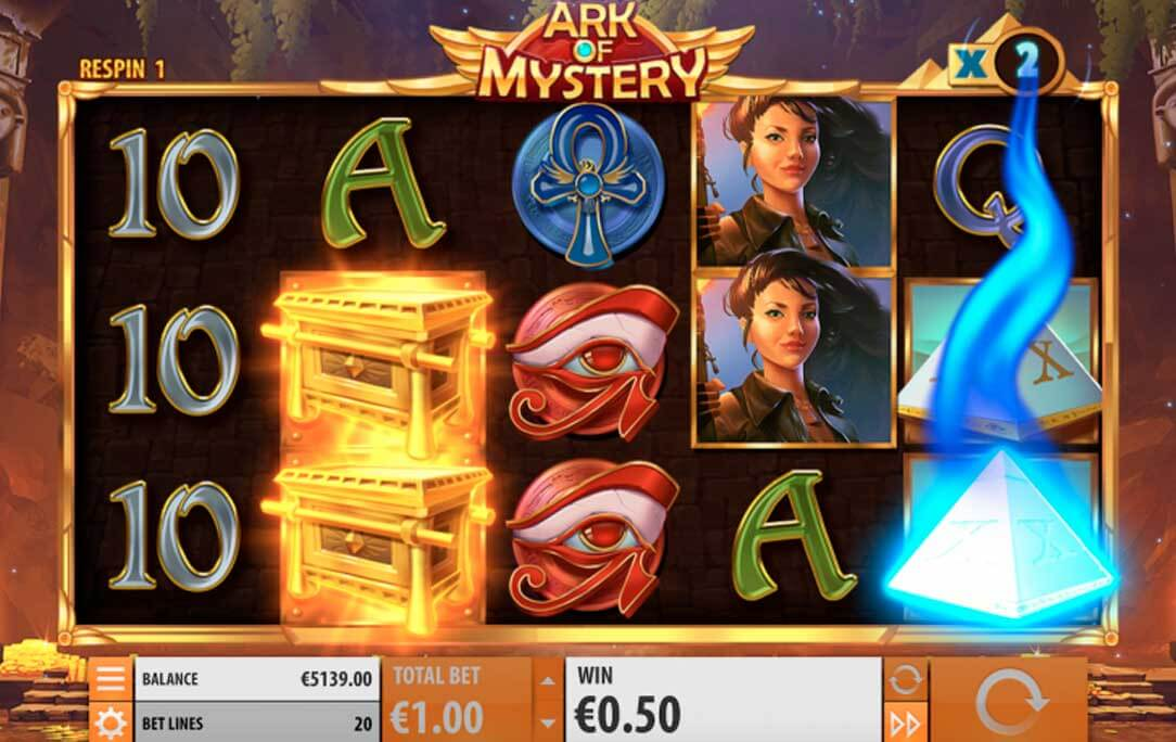 ark of mystery slot big win