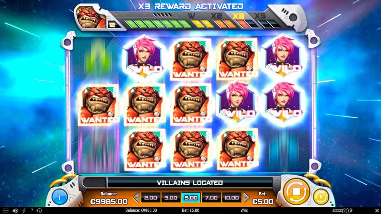 Iron Girl Slot Machine