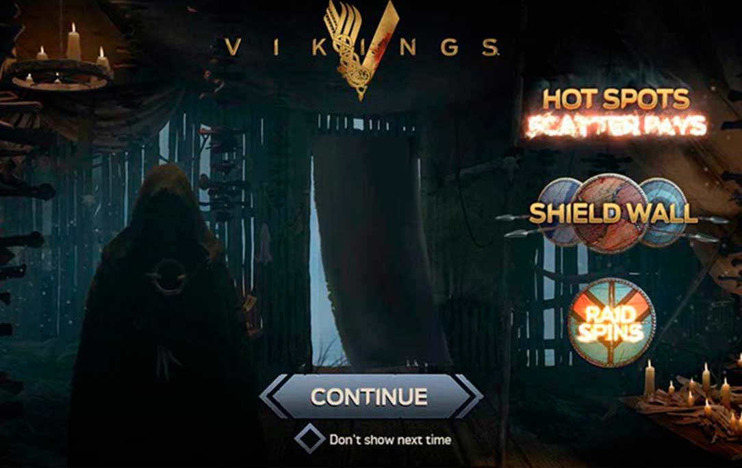 vikings slot features