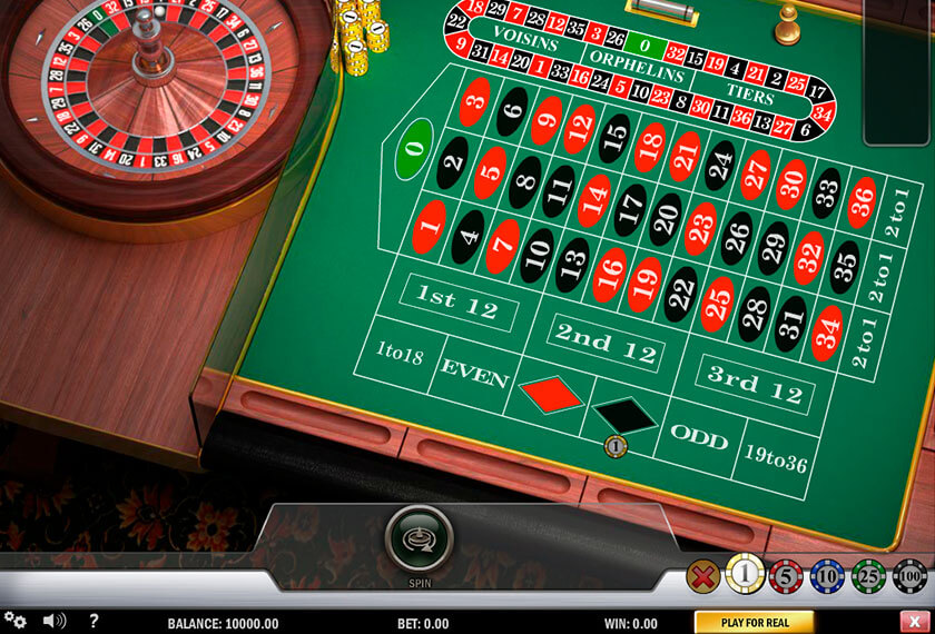 Play Free Roulette Online No Download