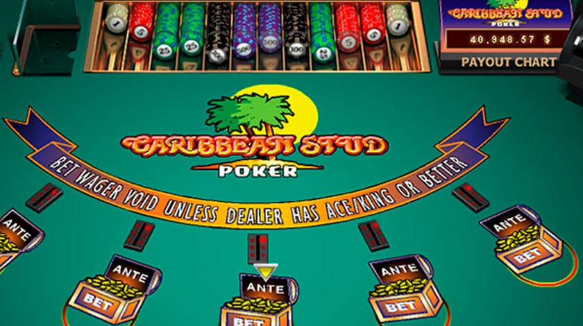 Caribbean Stud Poker Online Free