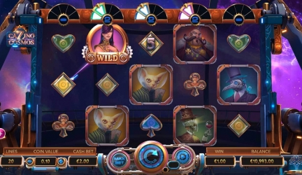 Cazino cosmos slot: What is the best feature?
