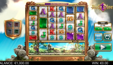 Holy diver slot review and free play