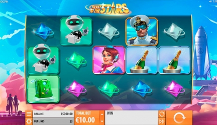 Ticket to the stars slot free play and review